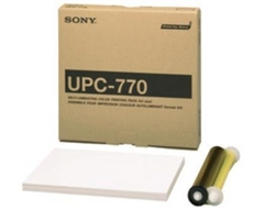 SONY UPC770-A4 COLOR PAPER WITH RIBBON