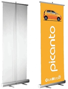 85x200 cm Roll Up Banner
